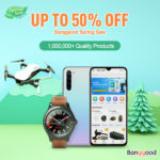 Banggood Spring Sale Up to 50% OFF